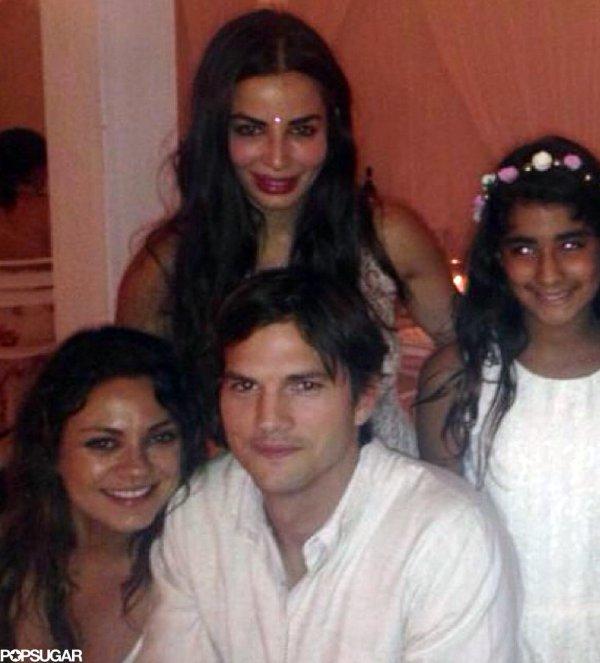 Ashton Kutcher And Mila Kunis Indian Wedding