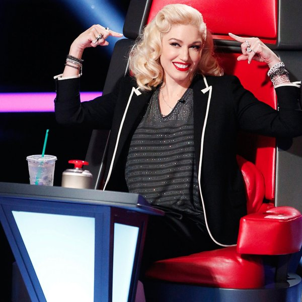 Gwen Stefani Voice Judge Popsugar Celebrity
