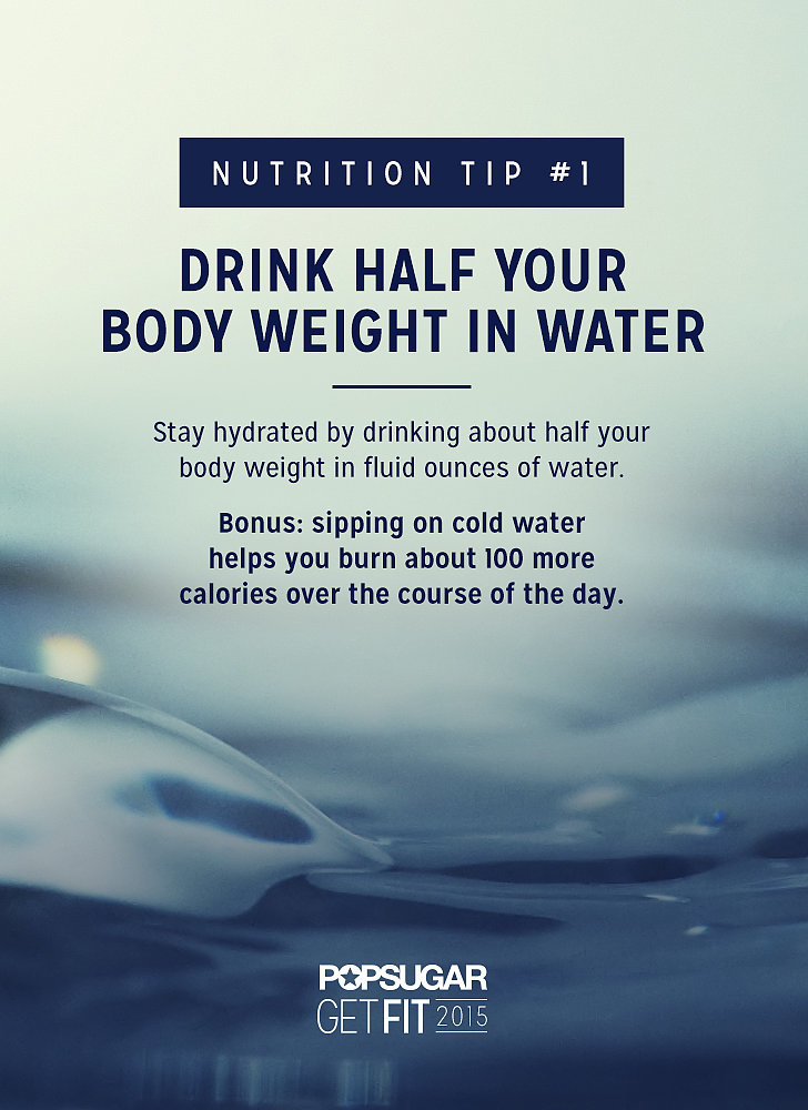How Much Water Do I Need to Drink? | POPSUGAR Fitness