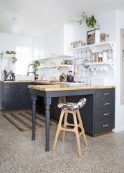 kitchen cabinets cocina popsugar open easy grandes link