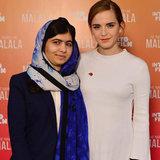 Emma Watson e Malala Yousafzai stanno mettendo lannotazione diritta circa femminismo