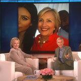 Hillary Clinton parla del suo Selfie Kardashian Approvato affronta