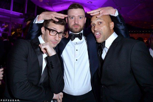 Andy Samberg and Justin Timberlake