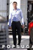 Qui è Jamie Dornan che gioca il gioco più bello del fermo che avete veduto mai