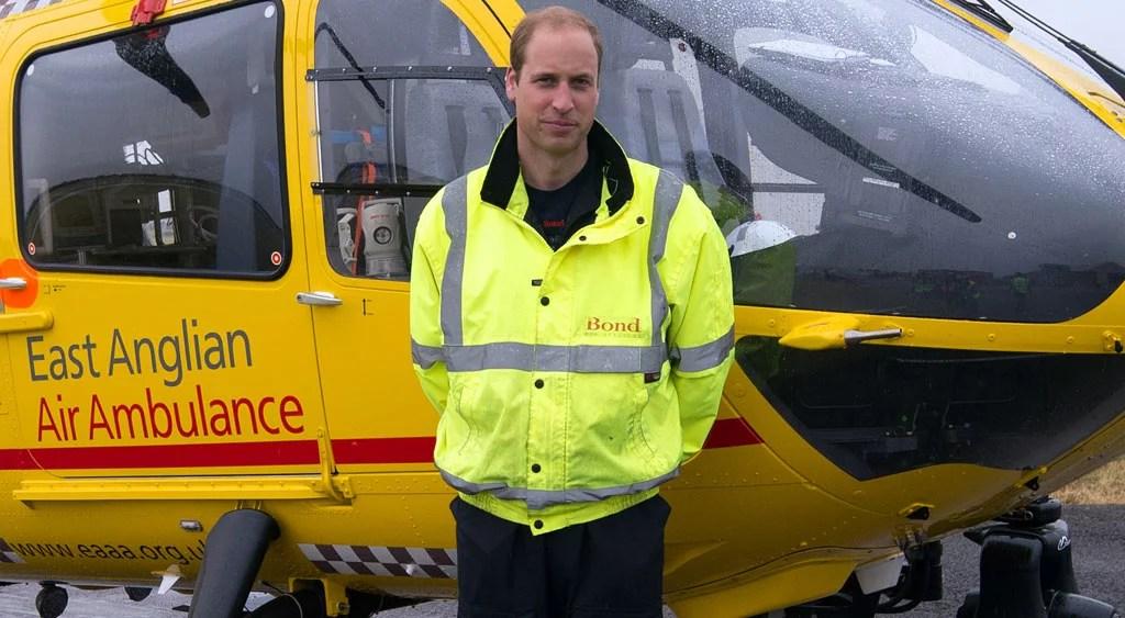 Prince William Valentines Day Helicopter POPSUGAR