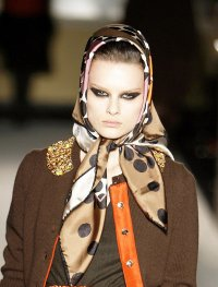 Autumn Winter Catwalk Trend Headscarves, as at Dolce ...