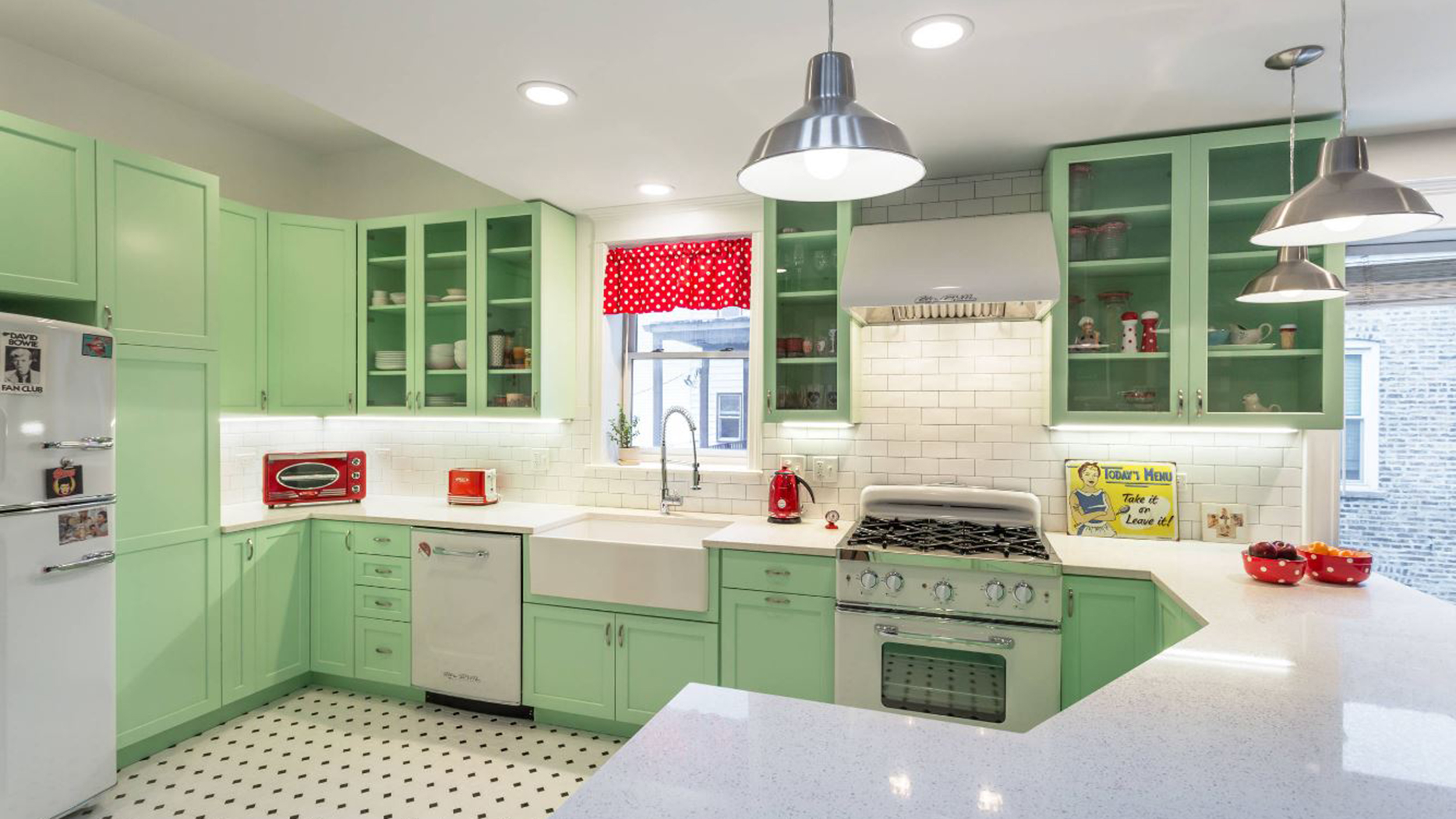 Kitchen 50s makeover Before and after  TODAYcom