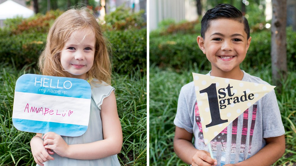 medium resolution of Back to school photos: 10 free printable first day of school signs
