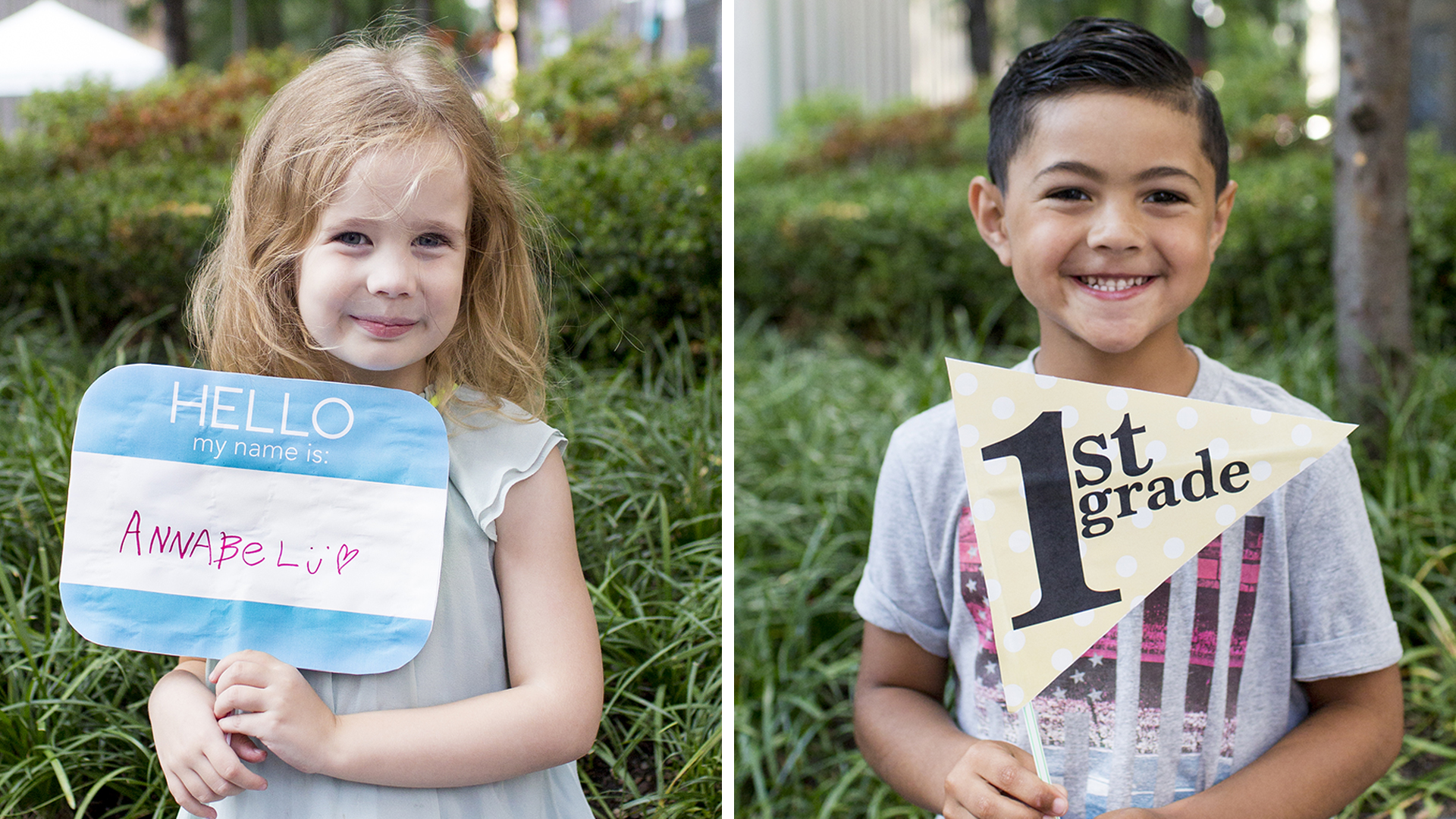 hight resolution of Back to school photos: 10 free printable first day of school signs