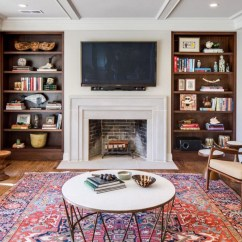 Living Room Fireplace And Tv Interior Design Of Ideas Is It Ok To Hang The Over