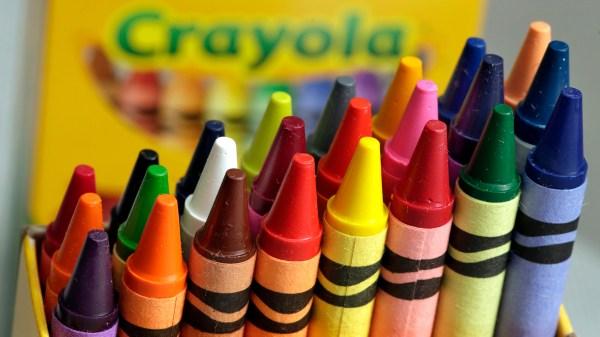 Crayola Announces Retire Dandelion Iconic Pack Of Crayons
