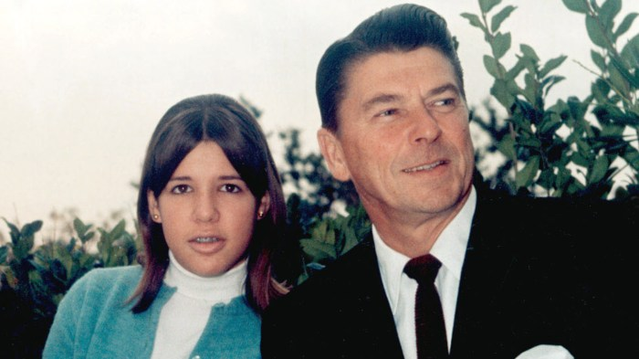 Image result for ronald reagan and daughter patti davis