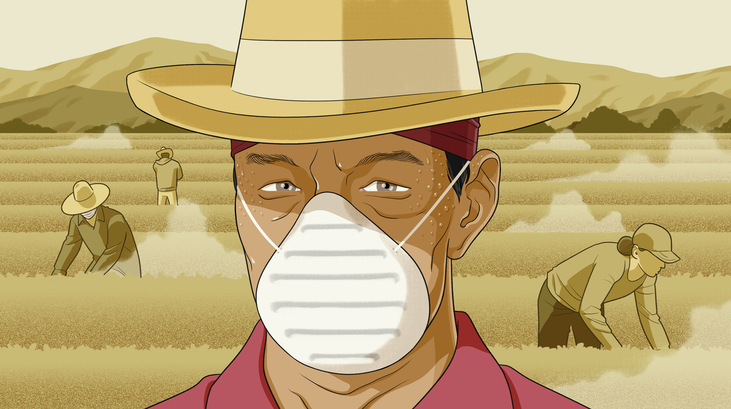 Potentially deadly valley fever is hitting California farmworkers ...