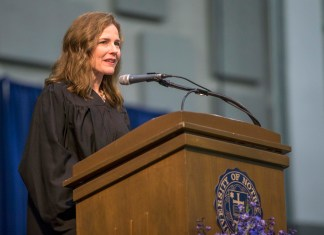 Amy Coney Barrett Emerges as Front-Runner on Trump's List of Nominees to Replace Ruth Bader Ginsburg on Supreme Court