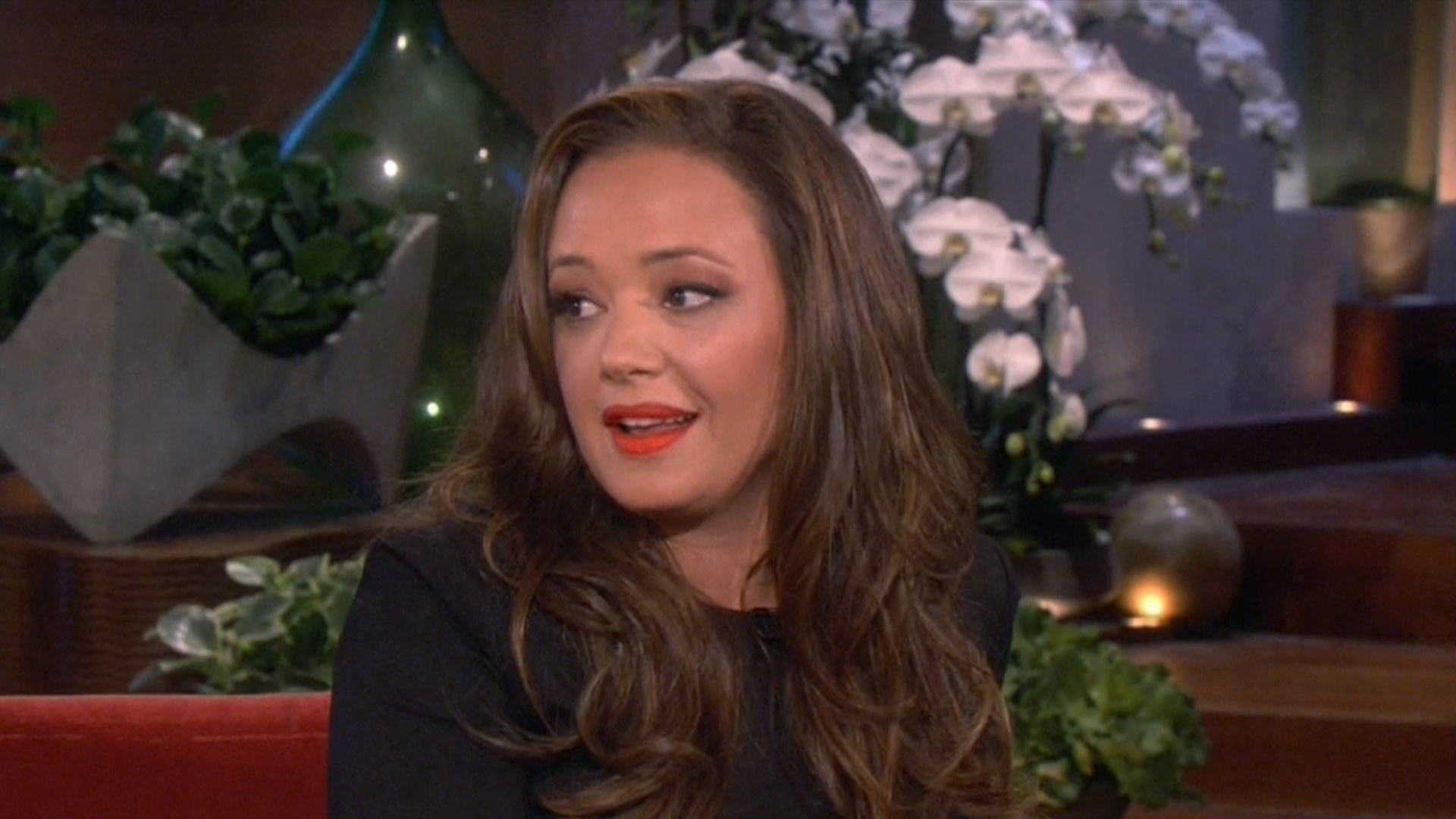Leah Remini opens up on Ellen about hard split with