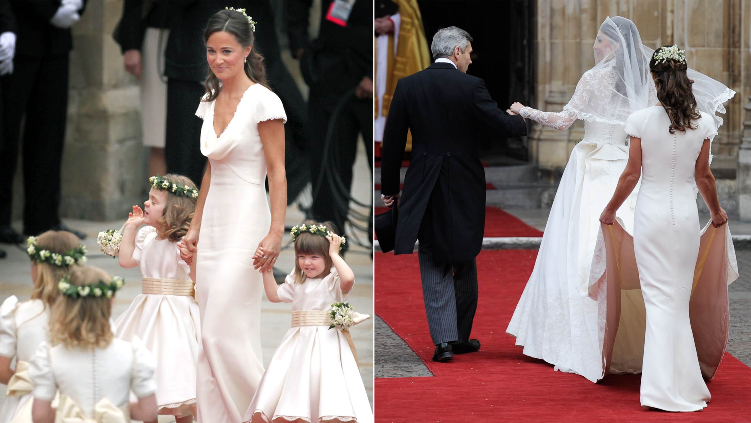 Pippa Middleton: Royal Wedding Dress 'fitted A Little Too