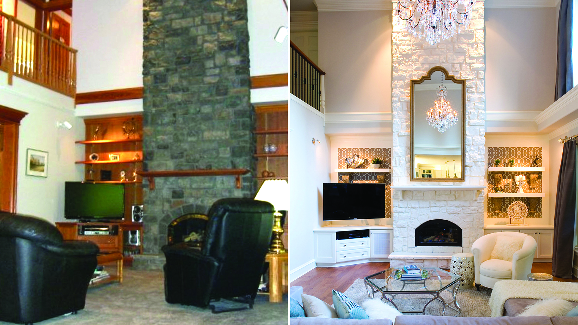 Living Room Makeovers: Interior Designers Share Before-and