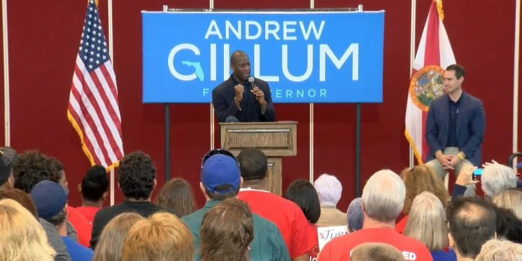 Florida Midterms Inside Look At Highstakes Governor Race