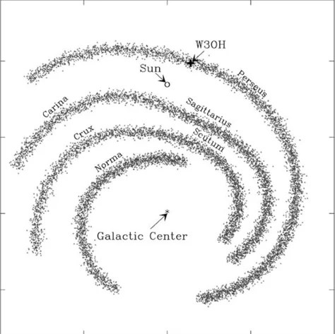 Milky Way Galaxy Diagram Milky Way Black Hole Wiring