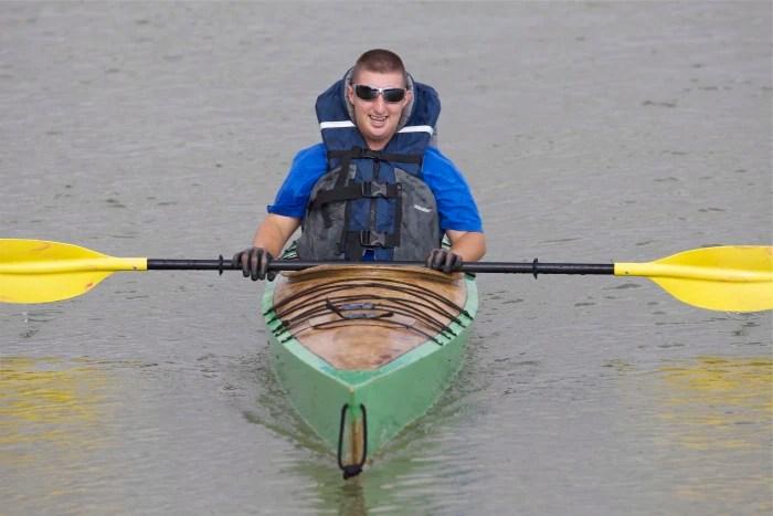Matthew Hernandez Kayaking
