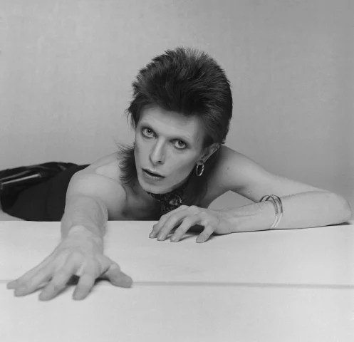 Image: David Bowie's work was celebrated in a 2013 retrospective at London's Victoria and Albert Museum