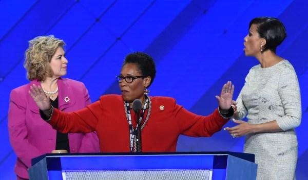 Image: US-VOTE-DEMOCRATS-CONVENTION