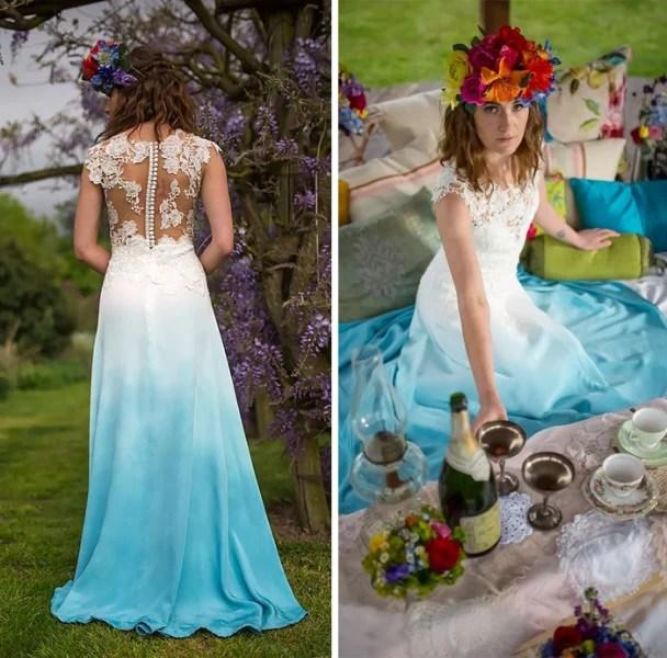 Fabulous Autumn Wedding Gown