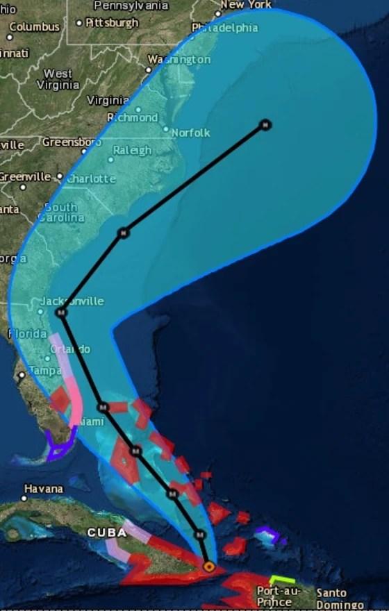 Hurrican Matthew Map : hurrican, matthew, Exactly, Hurricanes, Tracked?