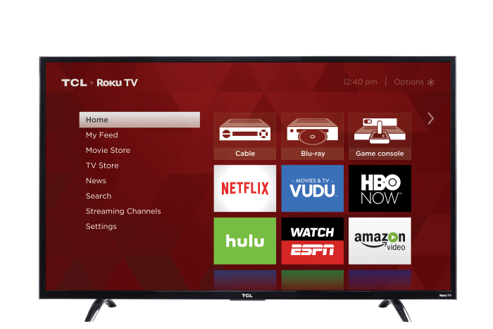 TCL 43-Inch Ultra HD Roku Smart LED TV Today Show