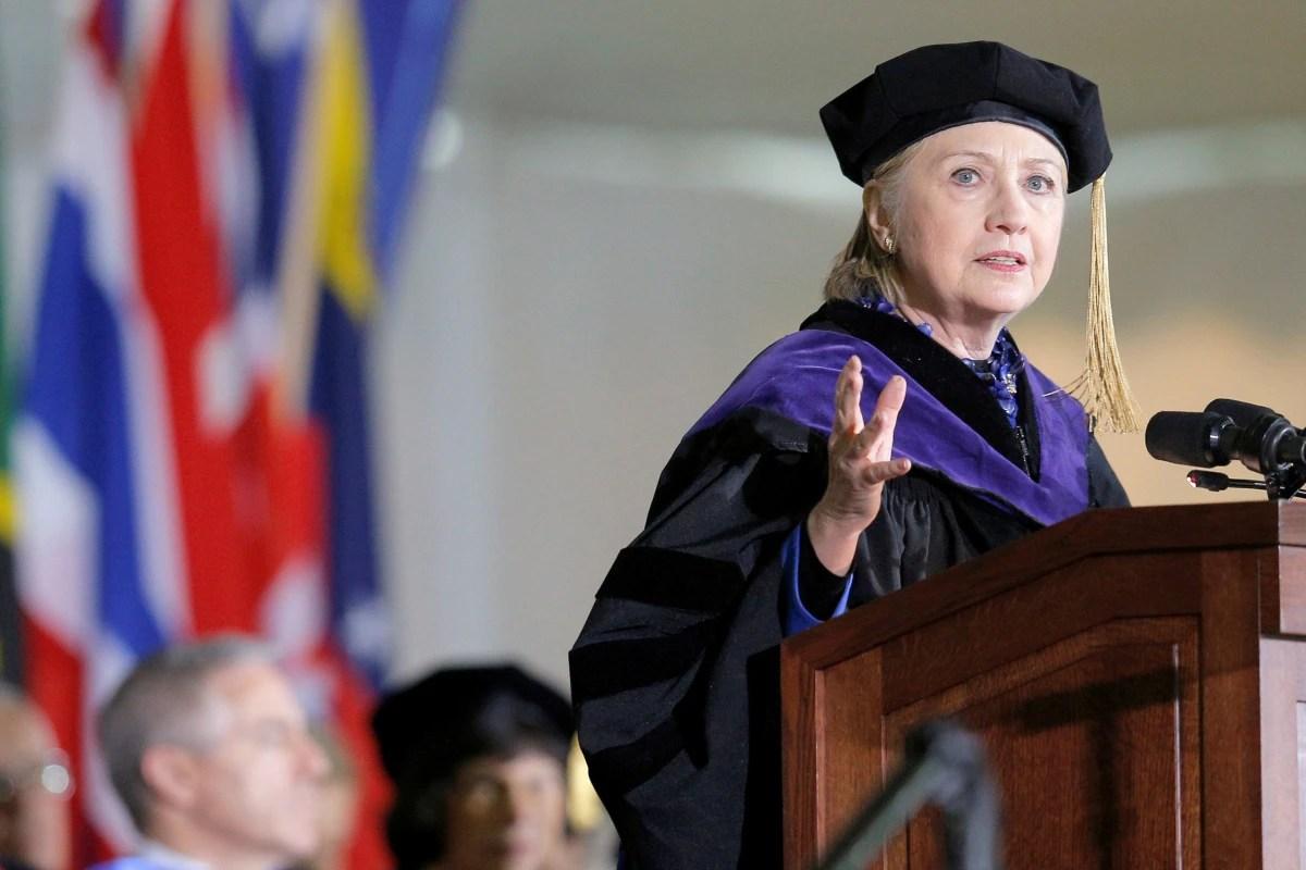 Hillary Clinton predicts impeachment for Donald Trump