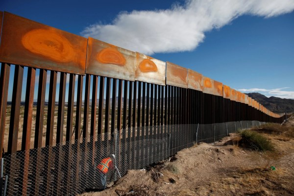Donald Trump' Border Wall 'progress' Report - Nbc