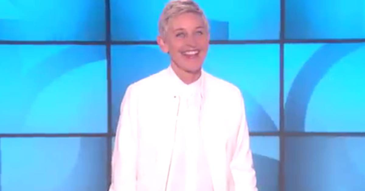 Ellen DeGeneres looks very different in this throwback pic