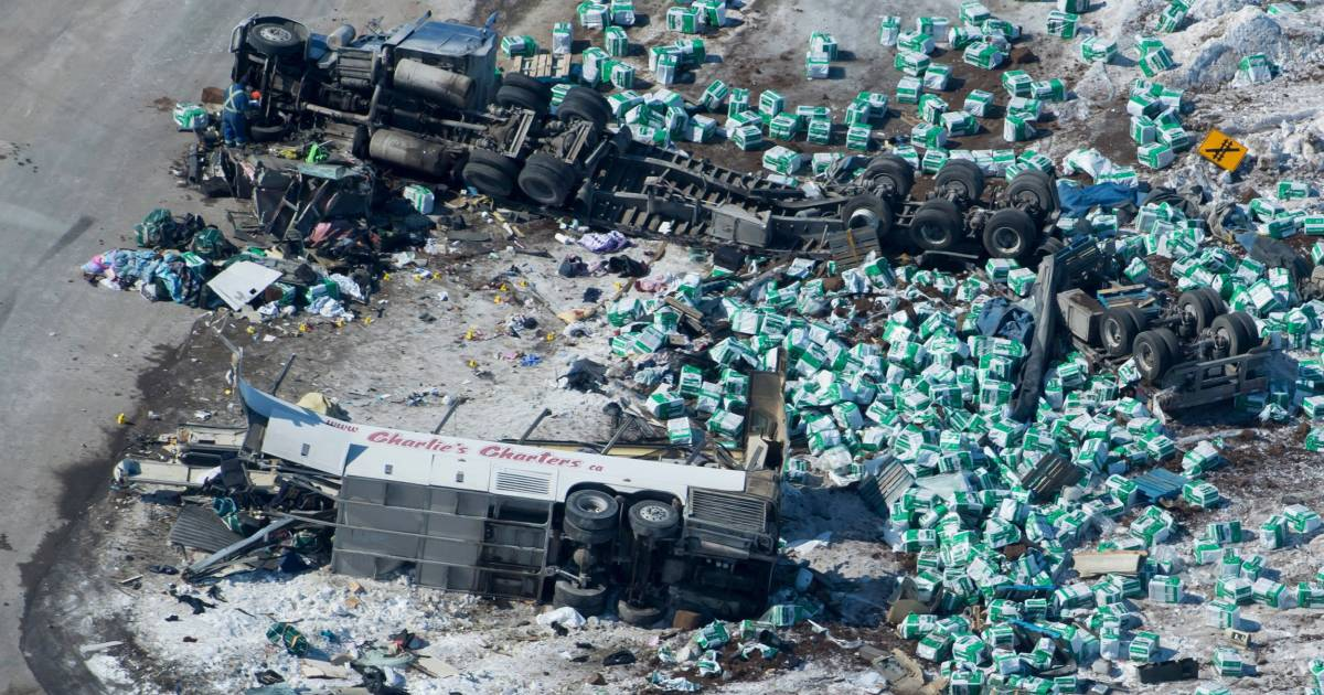 hockey player diagram led boat light wiring new shock in canadian bus tragedy after victim and survivor mixed up