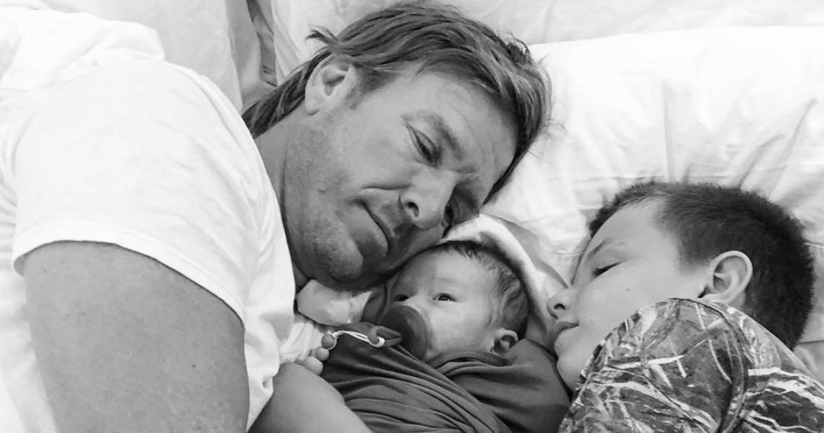 Joanna Gaines Shares Sweet Snap Of Baby Crew's 'cuddlefest