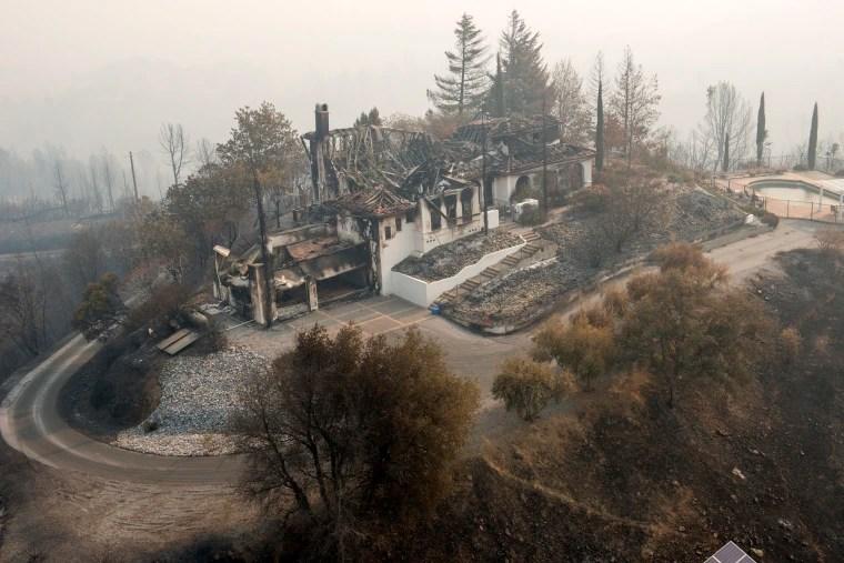 Image: Shasta fire