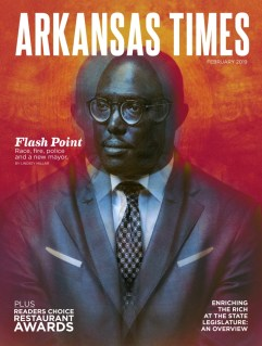 The most recent issue of the Arkansas Times, the publication at the center of the ACLU's lawsuit.