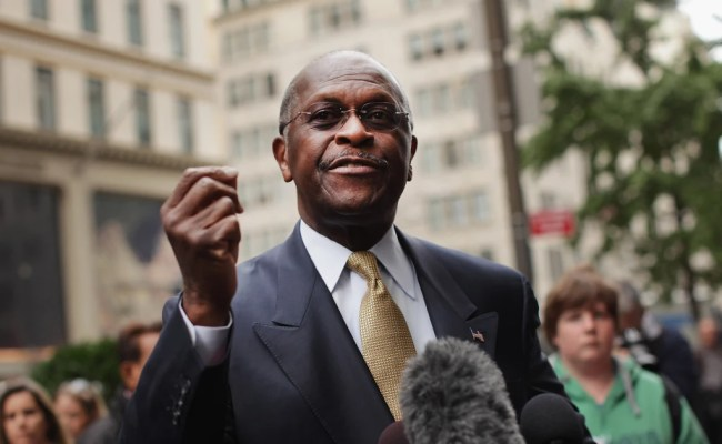 Trump Recommending Herman Cain For Federal Reserve Board