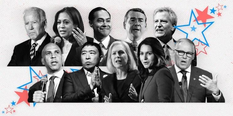 july democratic debate live