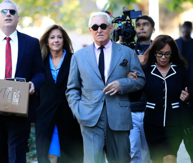 Roger Stone Complains Of Food Poisoning Leaves Jury Selection In