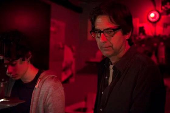 "Hank (Ray Romano) and Max (Max Burkholder) on ""Parenthood."""