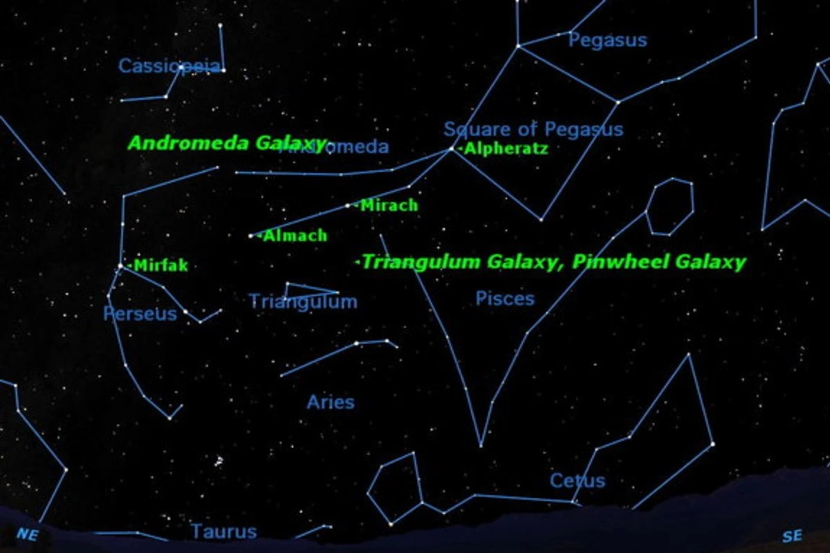 hight resolution of milky way andromeda diagram