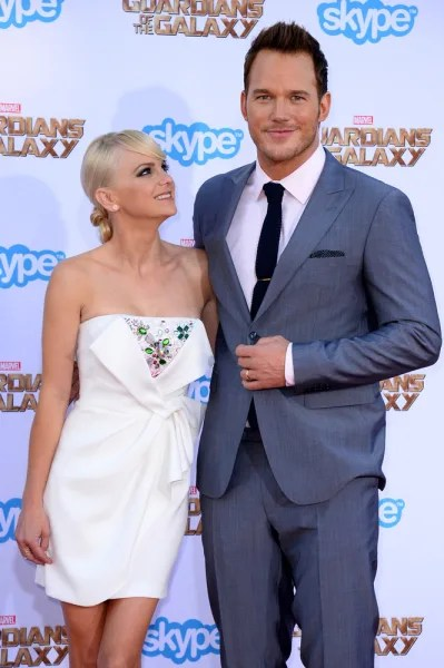 Chris Pratt Wows Us And His Wife On Guardians Red