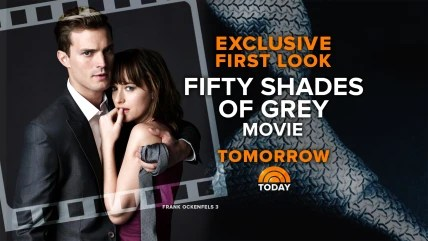 """Image: """"Fifty Shades of Grey"""" tease"""