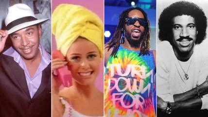 Lou Bega, Aqua, Lil Jon, Lionel Richie