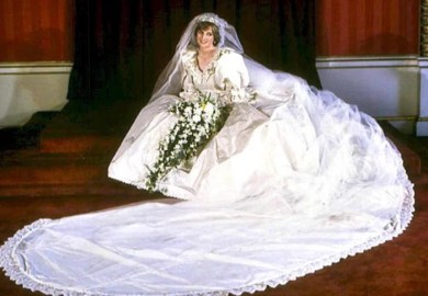 Description Of Princess Diana S Wedding Gown Ehow