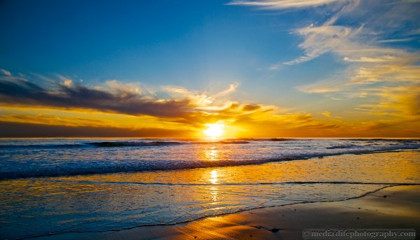 Amazing Beach Sunset Photography