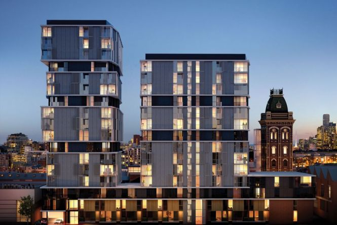 Metecnokasset Installed In The Yorkshire Apartments By Hayball