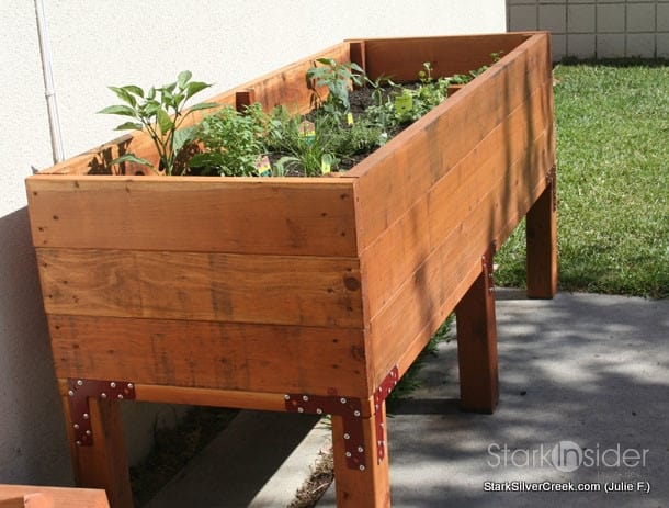 Vegetable Planter Box Turned Herb Garden: Julie writes in