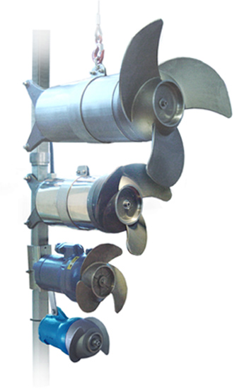Faggiolati mixers - omrörare för gödsel