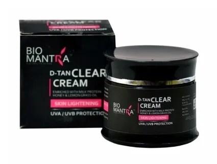 Buy Bio Mantra D-Tan Clear Cream (50 ml) - Find Offers ...